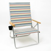 Telescope 581 First Class Beach Chairs with Cup Holder